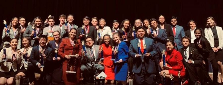 Speech+and+Debate+Team+with+1st+place+sweepstakes+win+at+Gregory+Portland+TFA+%22Parent+Tournament%22
