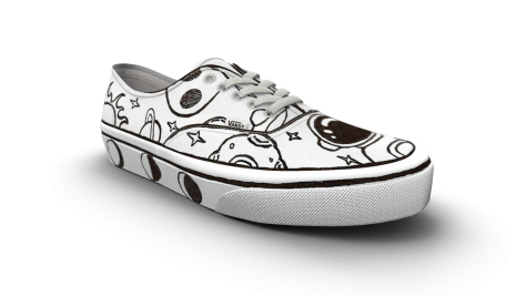 Sophomore competing in Vans design contest