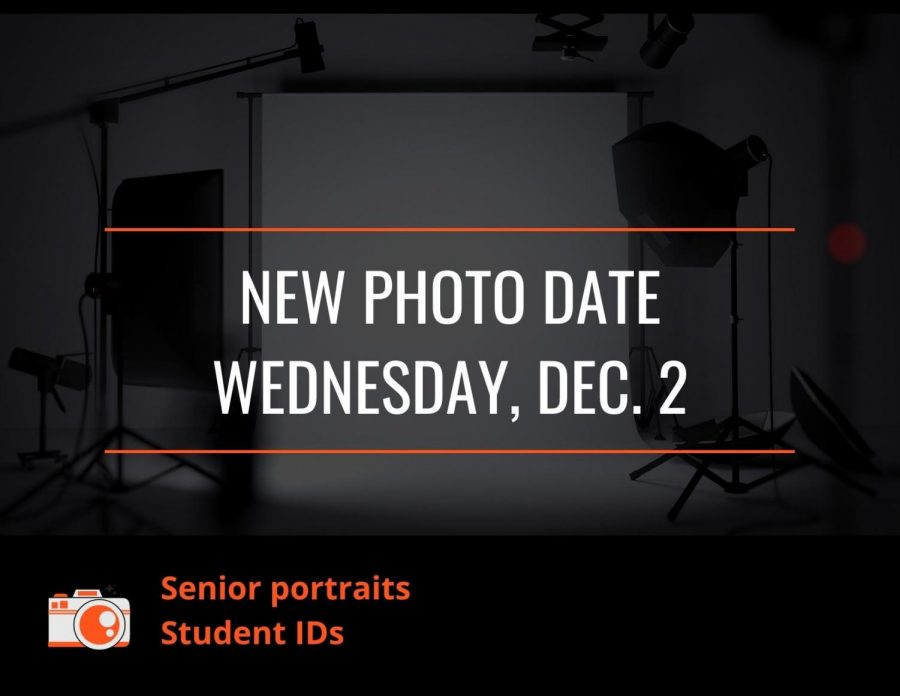 School photos rescheduled for December 2
