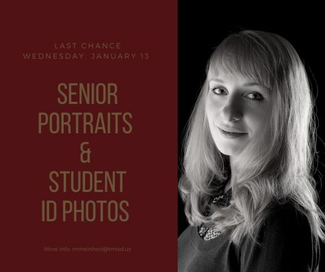 Last chance for senior portraits
