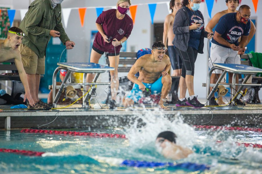 Saturday, Jan. 30, 2021. District 30-5A Swim Meet at CCISD Natatorium.