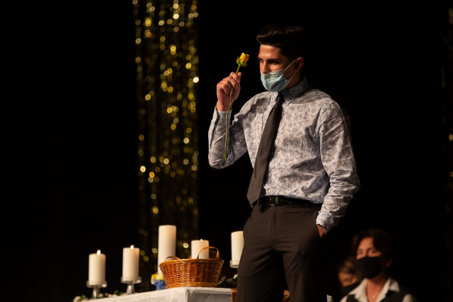 Thursday, March 18, 2021. NHS induction ceremony.